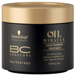 SCHWARZKOPF PROFESSIONAL BC Oil Miracle Mask Gold Shimmer 150 ml