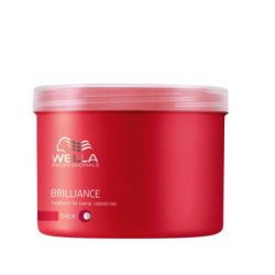 Wella Professionals Brilliance Thick Treatment for thick colored hair 500 ml