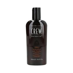 American Crew - Shampoo / Conditioner / Shower gel 3-in-1 | 250 ml.