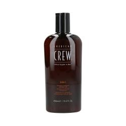 American Crew - Shampoo / Conditioner / Shower gel 3-in-1 | 450 ml.