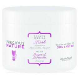 Alfaparf Precious Nature Mask Grape & Lavender Curly Wavy Hair 500 ml
