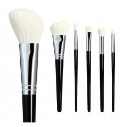 Lussoni Natural Charm Professional Makeup Brush Set, 6 pcs