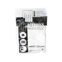 EKO-HIGIENA Foil gloves size M 100pc pack.