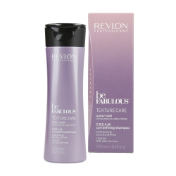 REVLON PROFESSIONAL BE FABULOUS Texture Care Curly Hair Shampoo 250ml