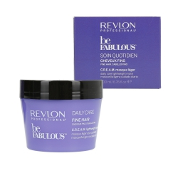 REVLON PROFESSIONAL BE FABULOUS Daily Care Fine Hair Mask 200ml
