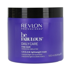 REVLON PROFESSIONAL BE FABULOUS Daily Care Fine Hair Mask 500ml
