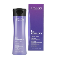 REVLON PROFESSIONAL BE FABULOUS Daily Care Fine Hair Shampoo 250ml