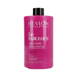 REVLON PROFESSIONAL BE FABULOUS Daily Care Normal/Thick Hair C.R.E.A.M. Conditioner 750ml