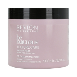 REVLON PROFESSIONAL BE FABULOUS Texture Care Smooth Hair Mask 500ml