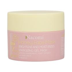NACOMI Honey Face Mask Brightens and moisturises Energizing gel mask 50ml