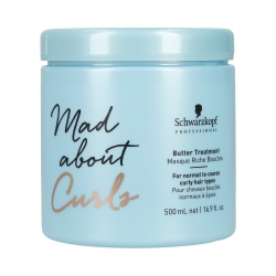 Schwarzkopf Professional - MAD ABOUT CURLS Butter Treatment Mask | 500 ml.
