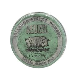 REUZEL Green Medium Hold Medium Shine Oil Based pomade 35g