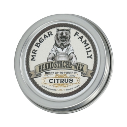 MR. BEAR FAMILY Beard Stache Wax Citrus 30ml