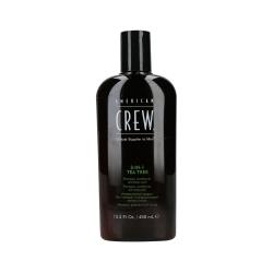American Crew 3-in-1 Tea Tree - Shampoo / Conditioner / Shower gel | 450 ml.