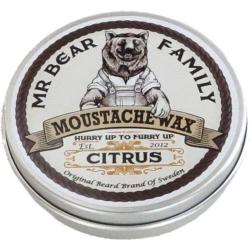 MR. BEAR FAMILY MOUSTACHE WAX CITRUS 30 G