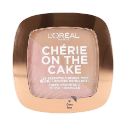 L'OREAL PARIS Cherry On The Cake Blush and Bronzer 2in1 01 Cherry Fever