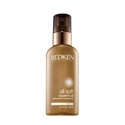 Redken All Soft Argan-6 Multi-Care Oil Dry Brittle Hair 90 ml