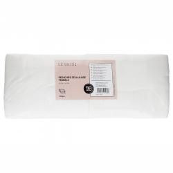 LUSSONI by Tools For Beauty, Pedicure cellulose towels, 50 cm x 40 cm, 100 pcs