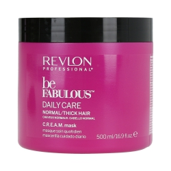 REVLON PROFESSIONAL BE FABULOUS Daily Care Normal/Thick Hair C.R.E.A.M. Mask 500ml