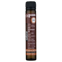 Natural World Macadamia Oil Ultra Nourishing Hair Treatment Oil 25 ml