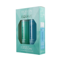 REVLON PROFESSIONAL EQUAVE Volume Set Shampoo 250ml + Conditioner 200ml