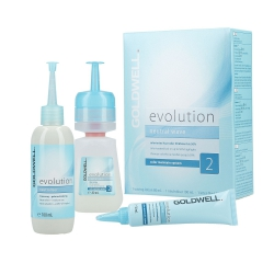 GOLDWELL EVOLUTION Perm-Set 2 Lotion 80ml + Neutraliser 100ml + Inter-fluid 30ml