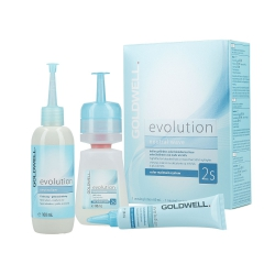 GOLDWELL EVOLUTION Perm-Set 2S Lotion 80ml + Neutraliser 100ml + Inter-fluid 30ml