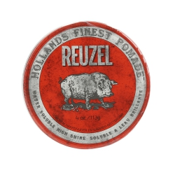 REUZEL Red Medium Hold High Shine Water Soluble Pomade 113g