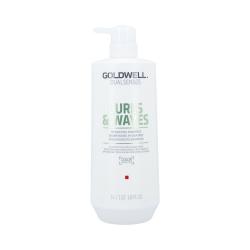 Goldwell - DUALSENSES - CURLS & WAVES Hydrating Shampoo | 1000 ml.