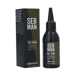 SEBASTIAN SEB MAN The Hero Re-workable Gel strong 75ml