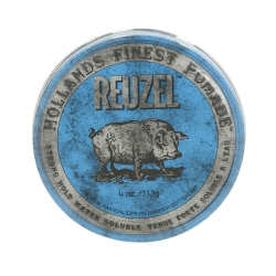 REUZEL Blue Strong Hold High Shine Water Soluble Pomade 113g