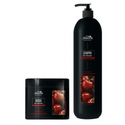 Joanna Professional Cherry Scent Shampoo 1000 ml + Mask 500 ml