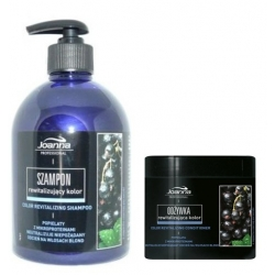 Joanna Professional Color Revitalizing Black Currant Scent Shampoo 500 ml + mask 500 ml