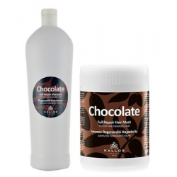 Kallos Chocolate Set Shampoo 1000 ml + Mask 1000 ml