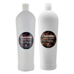 Kallos Chocolate Set Shampoo 1000 ml + Conditioner 1000 ml