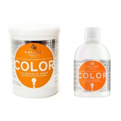 Kallos KJMN Color Set Shampoo 1000 ml + Mask 1000 ml