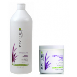 Matrix Biolage Hydrasource Hydrating Shampoo 1000 ml + Mask 500 ml