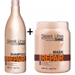 Stapiz Sleek Line Repair Set Shampoo 1000 ml + Mask 1000 ml