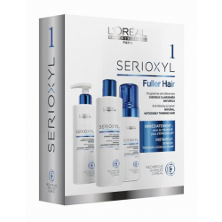 L'Oreal Professionnel Serioxyl 1 Kit Natural Hair 3-step natural hair fortifying program