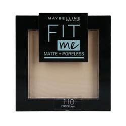 MAYBELLINE FIT ME Matte & Poreless Face powder 110 Porcelain 8,2g