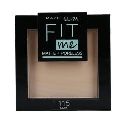 MAYBELLINE FIT ME Matte & Poreless Face powder 115 Ivory 8,2g