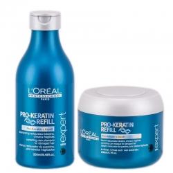 L'Oréal Professionnel Pro-Keratin Refill Set Shampoo 250 ml + Mask 200 ml