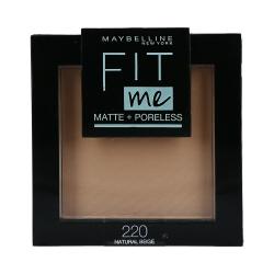 MAYBELLINE FIT ME Matte & Poreless Face powder 220 Nat Beige 8,2g