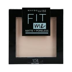 MAYBELLINE FIT ME Matte & Poreless Face powder 104 Soft Ivory 8,2g