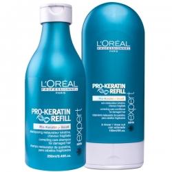 L'Oréal Professionnel Pro-Keratin Refill Set Shampoo 250 ml + Mask 150 ml