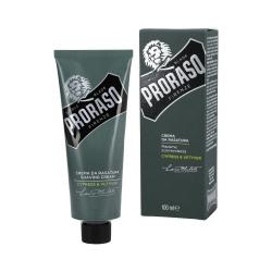 PRORASO SINGLE BLADE Cypress&Vetyver Shaving Cream 100ml