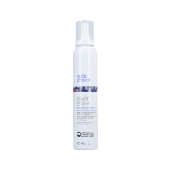 MILK SHAKE SILVER SHINE WHIPPED CREAM creamy conditioning mousse for blond or grey hair 200ml