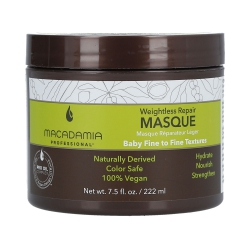 MACADAMIA WEIGHTLESS MOISTURE Mask for thin hair 222ml