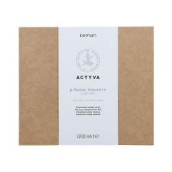 KEMON ACTYVA P FACTOR Men Intensive hair loss treatment 12x6ml