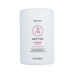 KEMON ACTYVA P FACTOR Scalp Hair loss treatment 1000ml